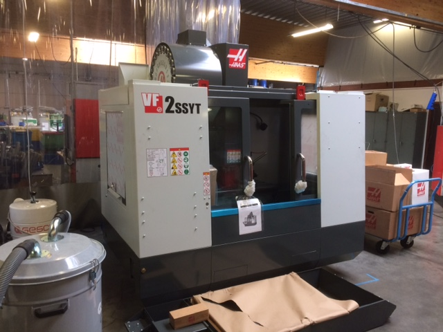 New CNC lathes & vertical machining center